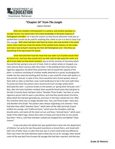 Annotated Text Exemplar Of Chapter  Of The Jungle  Learnzillion Cancel