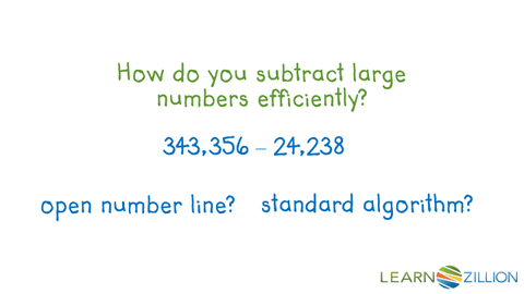 Subtract using the standard subtraction algorithm | LearnZillion